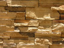 Stone wall. White limestone wall Royalty Free Stock Images