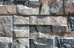 Stone wall with abstract pattern Stock Photos