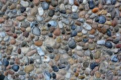 Stone wall with abstract pattern Royalty Free Stock Photos
