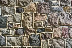 Stone wall with abstract pattern Stock Photography