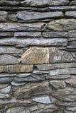 Stone Wall, Ambleside; Lake District. Stone Wall in Ambleside; Lake District; England; UK Stock Photography