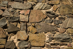 The stone wall Royalty Free Stock Photography
