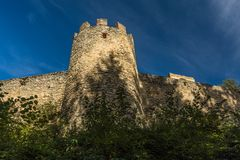 Free Stone Wall And A Bastion As A Part Of Fortification Royalty Free Stock Photos - 160289918