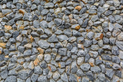 Stone wall. The stone that arrange on the wall Stock Photography