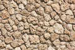 Stone wall as background Royalty Free Stock Image