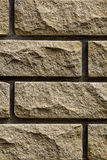 Stone wall as a background Stock Images