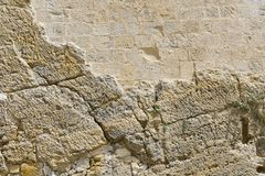 Stone wall as background Stock Photo