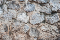 Stone wall. The stone wall in background Stock Images