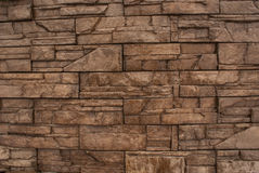 Stone wall background. Brown texture stone wall background Royalty Free Stock Image