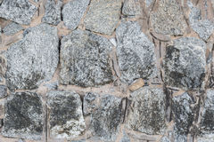 Stone wall background. The stone of wall background Royalty Free Stock Images