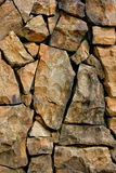Stone wall. Background of the stone wall Royalty Free Stock Photography
