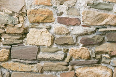 Stone wall background. The background is a stone wall royalty free stock image