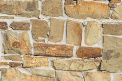 Stone wall background. The background is a stone wall stock photography