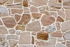 Stone Wall Background. Architectural detail Royalty Free Stock Images