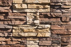 Stone wall background. Close up Royalty Free Stock Image