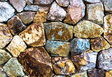 Stone Wall Background. Close-up Stock Photography