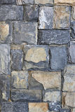 Stone wall for background design. Royalty Free Stock Image