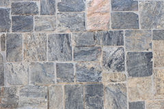 Stone wall for background design. Royalty Free Stock Images