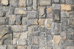 Stone wall for background design. Stock Photography