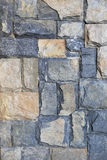 Stone wall for background design. Stock Photo