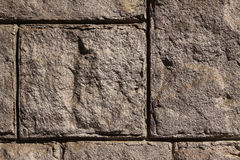 Stone wall background horizontal Royalty Free Stock Image