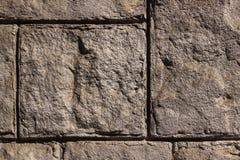 Stone wall background horizontal Royalty Free Stock Image