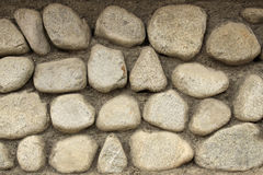 Stone wall background horizontal Stock Photography