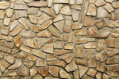 Stone wall background horizontal Stock Image