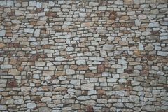 Stone wall background with matt film effect Royalty Free Stock Images