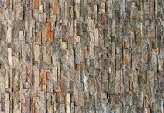 Stone Wall Background in Natural Color Royalty Free Stock Photo
