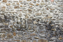 Stone Wall Background. Old Castle Detail stock images