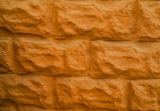 Stone wall for the background royalty free stock photos