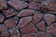 Stone wall for the background, plaster royalty free stock images