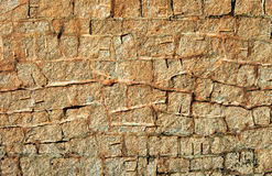 Stone wall background texture Royalty Free Stock Image