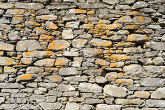 Stone wall for background Stock Image