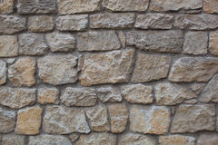 Stone wall. Background or texture Royalty Free Stock Image