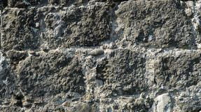 Stone wall background texture stock image
