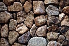Stone wall background textured Stock Images