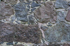 Stone wall background. Stone wall with textures for background Royalty Free Stock Image
