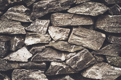 Stone wall background. Vintage style royalty free stock photos