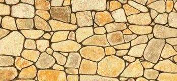 Stone wall background. A stone yellow wall background Stock Photo