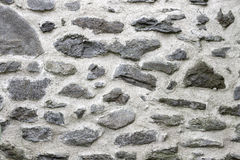 Stone Wall. Big Stones. In Concrete stock photography