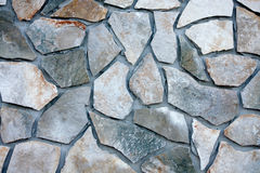 Stone wall block texture surface Royalty Free Stock Photography