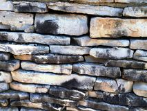 Stone wall brick background Royalty Free Stock Images