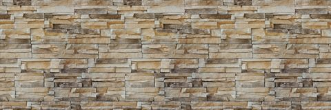 Free Stone Wall Brick Texture. Seamless Pattern. Background Of The Sandstone Facade. Stock Photos - 116330723