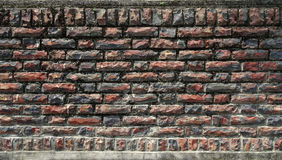 Stone Wall. brick wall. A stone wall texture background Royalty Free Stock Images