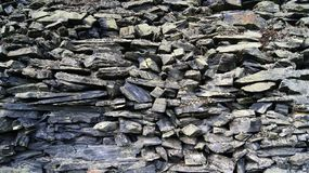 Stone wall of bygone years. The wall is a structural element in architecture and construction, creating an external perimeter of a building or room in the form royalty free stock images