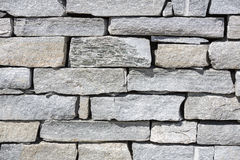Stone wall can be used as background Royalty Free Stock Photos