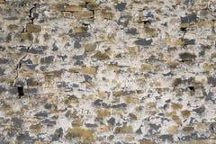 Stone wall of Casa de San Martin Inn, in Aragon, in the Pyrenees Mountains, Province of Huesca, Spain Stock Photos