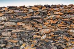 Stone wall church Royalty Free Stock Photography